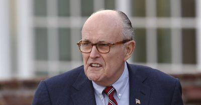 Rudy Giuliani undergoes surgery after falling on vacation