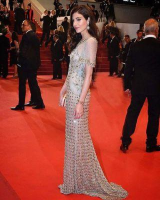 Razane Jammal was beautiful and angelic in GEORGES HOBEIKA for