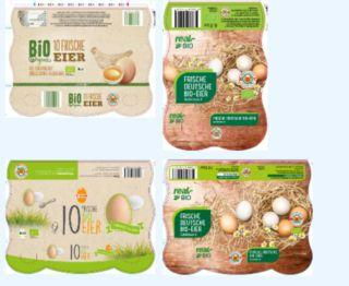 Three EU countries in recalls due to Salmonella in eggs