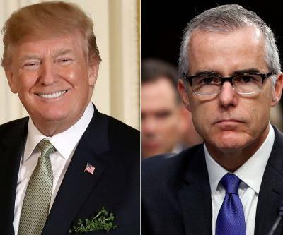 Trump calls McCabe's firing a 'great day for Democracy'