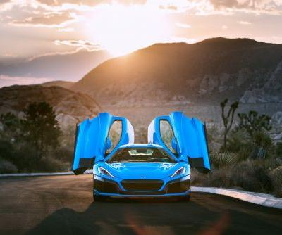 Rimac's California Edition C Two Gets Champagne Addition