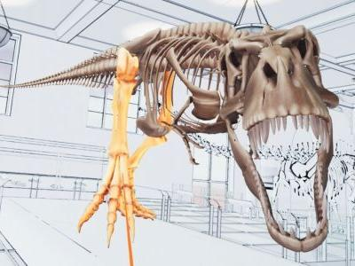 New VIVE Studios Title Lets You Assemble A Tyrannosaurus Rex In Virtual Reality