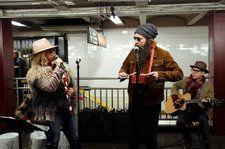Watch Alanis Morissette Busk in Disguise in the New York City Subway With Jimmy Fallon