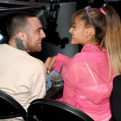 Ariana Grande Wears Mac Miller's Sweatshirt And Cuddles His Dog In Touching New Post