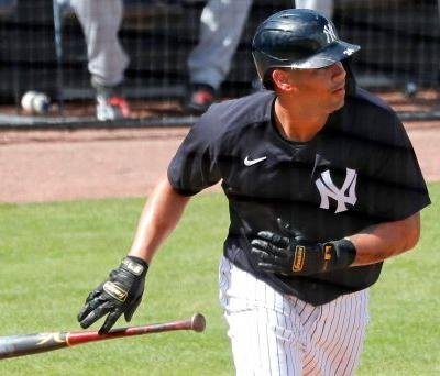 Yankees' Gary Sanchez belts second spring training home run