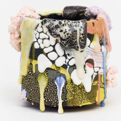 Globs of Color and Texture Ooze Off Brian Rochefort's Ceramic Sculptures