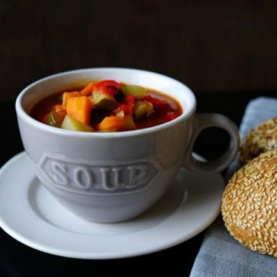 Vegan Bean Chili Soup