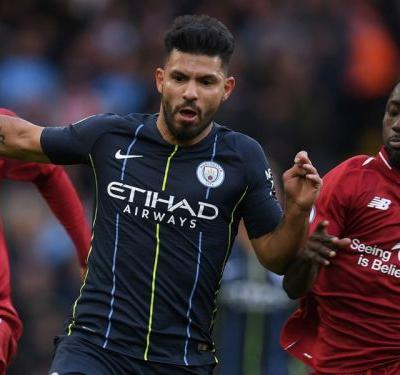 Aguero's Anfield hoodoo continues as Man City register lowest possession under Pep