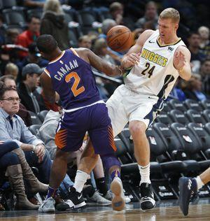 Gary Harris scores 36 points, Nuggets beat Suns 134-111