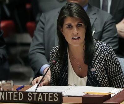 Haley: US 'locked and loaded' if Assad uses poison gas again