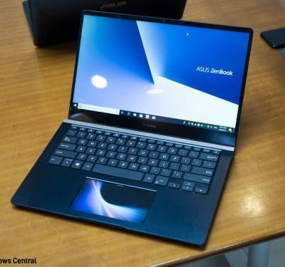 The ASUS ZenBook Pro 15 has a screen for a touchpad and I don't know why