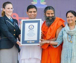 Rajasthan's Kota Sets Guinness World Record on International Yoga Day