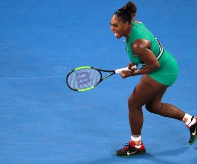 Serena Williams defeats world's No. 1 player at Australian Open