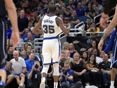 Klay Thompson has 27 points, Warriors rout Magic