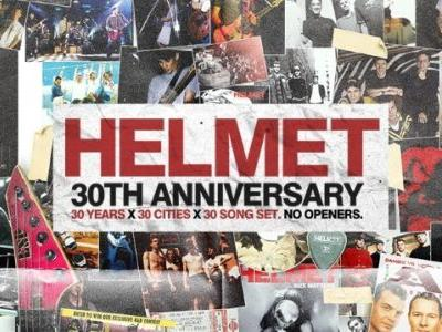 HELMET Announces 30th-Anniversary U.S. Tour