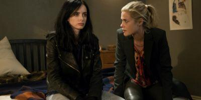 Jessica Jones & Trish Have Police Problems in Season 2 Set Photos