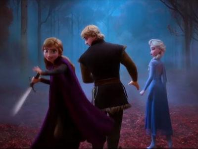 FROZEN II Gets an Anime Style Opening