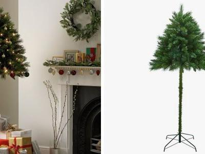 Half Christmas trees are here to keep your pets from ruining Christmas