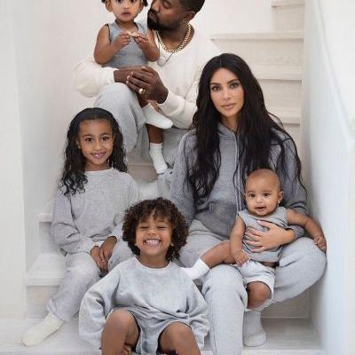 The 2019 Kardashian-West Christmas Card Is Here and It's the Cutest Thing Ever