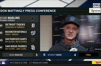 Don Mattingly on getting 4th straight win in series opener against Tigers