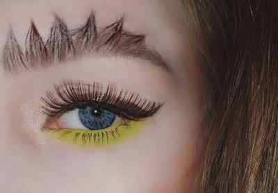 Behold dragon brows, the next hot beauty trend that's not actually a trend