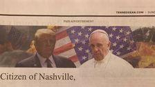 Tennessee Newspaper Blasted For Printing Ad Claiming 'Islam' Is Going To Nuke Nashville