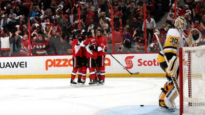 Stanley Cup playoffs three stars: Senators push back on Penguins to force Game 7