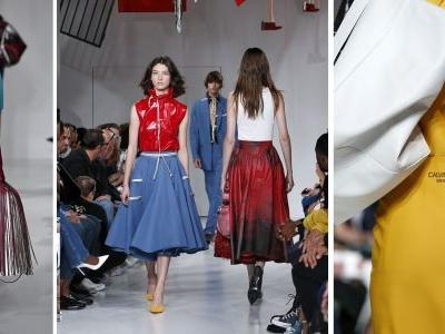 Cheerleaders, rubber skirts, security blankets: What's Calvin Klein trying to say about America?