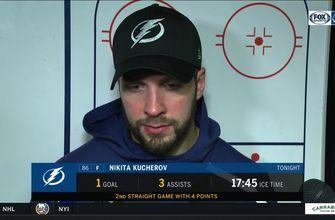 Nikita Kucherov: 'Good things happen when we play the right way'
