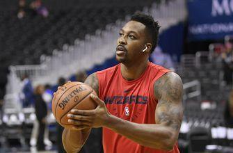 Dwight Howard misses Wizards season opener with injured back