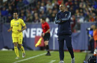 Sarri to discuss future with Chelsea after Europa final
