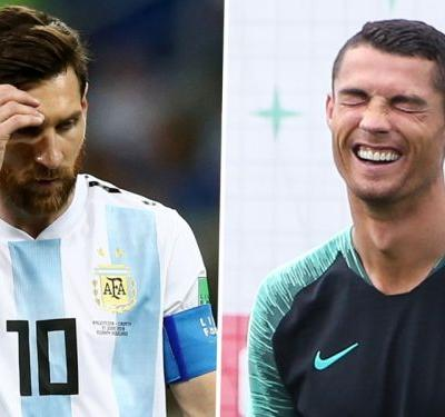 Goodbye to the GOATs as Ronaldo and Messi go home