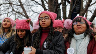 With 'Pussyhats,' Liberals Get Their Own Version Of The Red Trucker Hat