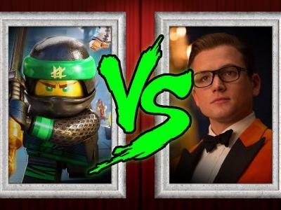 Box Office Prediction: LEGO Ninjago vs. Kingsman 2
