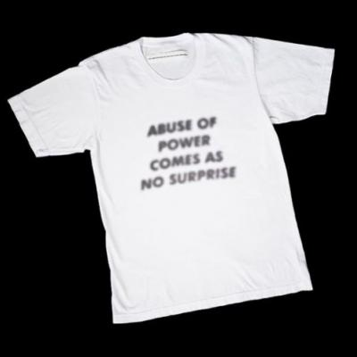 Virgil Abloh and Jenny Holzer are teaming up again