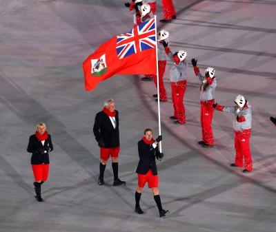 Bermuda wore shorts to the Winter Olympics in 20-degree weather - and people are loving it
