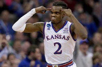 Another Jayhawk, Lagerald Vick, plans to enter NBA draft