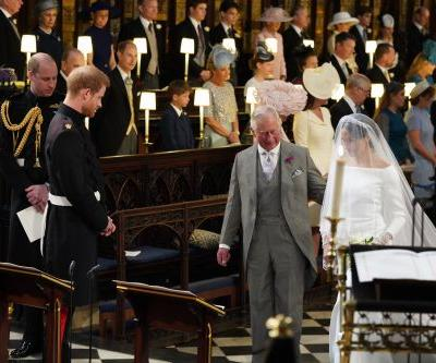 Prince Harry Shared What It Was Like to Ask Prince Charles to Walk Meghan Down the Aisle
