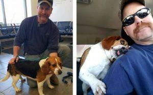Photo Of Death Row Dog's Freedom Ride Melts Hearts Around The World
