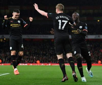 Dazzling De Bruyne ensures City bounce back at Arsenal