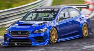 Subaru Sets A New Nurburgring Lap Record For Four-Door Sedans