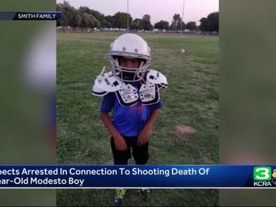 Arrest made in deadly shooting of 5 year old Modesto boy