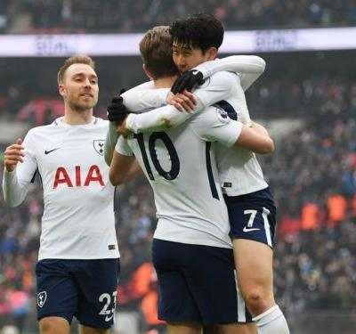 Son double leads Spurs to victory