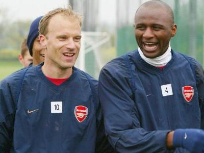 Vieira and Bergkamp a really good combination for Arsenal - Campbell
