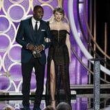 Taylor Swift Was at the Golden Globes to Present AND Support Her Boyfriend, Joe Alwyn