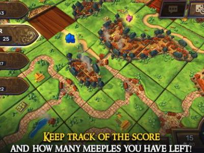 Asmodee takes digital board game Carcassonne to the Nintendo Switch