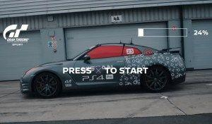 Real Nissan GT-R/C races around Silverstone using PS4 controller