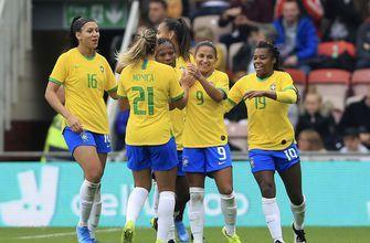 Brazil beats England 2-1 in women's friendly