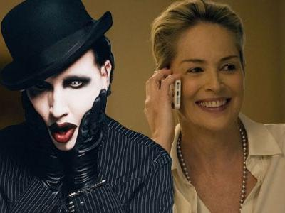 Marilyn Manson & Sharon Stone Join HBO's The New Pope