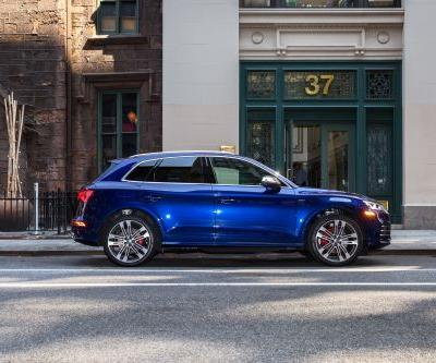 We drove Audi's new high-performance SUV that's loaded with modern tech - here's what it was like
